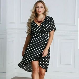 *COMING SOON* Plus Size Polka Dot Dress